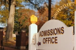 admission application help