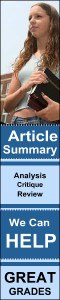 article assignment| article review| article summary